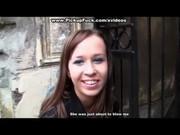 Ребята пикаперы трахнули русскую выпускницу в подвале