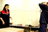 Секс русских лесбиянок в мастерской