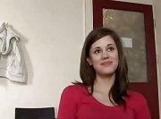 Скромная польская студентка проходит кастинг для взрослых