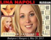 Привлекательная русская модель Лина Наполи проходит анальный кастинг