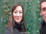 Горячий пикап скромной русской девочкой в бизнес-центре