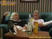 Секс пьяных русских лесбиянок
