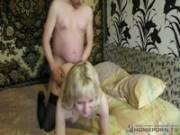 Русская жена изменяет мужу у любовника на квартире
